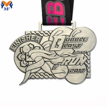 Course Marathon Finisher Metal Medal Custom