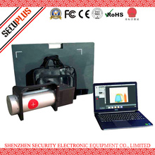 Police use Portable Baggage Scanner SPX6046P X ray Bag Scanner