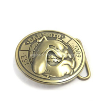 Fivela de cinto 3D em Bronze Antique Plating (Belt buckle-009)