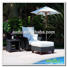 cane wicker sun loungers/sun bed/chaise lounge