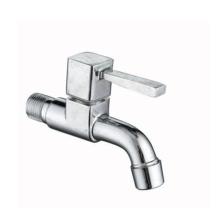 Zinc alloy one way bathroom faucet tap
