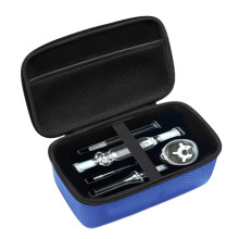 Smell Proof EVA Hard Foam Case For Glass Dab Rig, Smell Proof Bag Carbon For Glass DAB Accessories