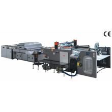 Zxsw-una máquina de impresión totalmente automática de la pantalla del cilindro de la parada