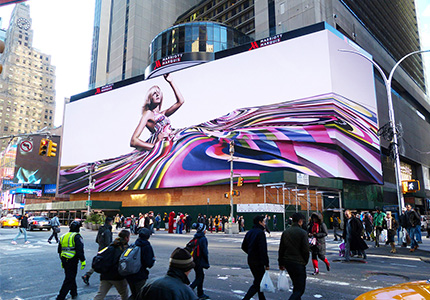 Big Advertising Led Panel Video