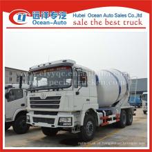 SHACMAN F3000 camião betoneira, 12cbm camião betoneira usado, camião betoneira 6x4 usado para venda