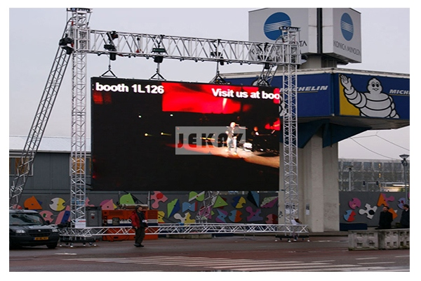 Big Outdoor Advertising Screen