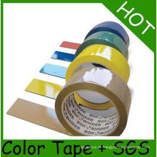 Fita adesiva de baixo nível de ruído da embalagem de BOPP para a selagem da caixa