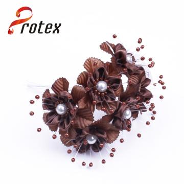 Wedding Wholesale Satin Ribbon Handmade Flowers Cheap Artificial Flower