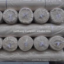 Grauer Webstoff - 100% Baumwolle kardiert / 116*54 CD20*CD20/2