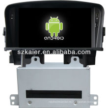 4.2 versión del reproductor de DVD del coche del sistema de Android para Chevrolet Cruze con GPS, Bluetooth, 3G, iPod, juegos, zona dual, control del volante