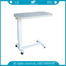 Patient d'hôpital d'AG-Obt002 ABS au-dessus des tables de lit avec quatre roulettes