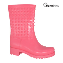 Moda feminina chuva de PVC Low Boot