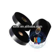 Étiquette en tissu satiné imprimé sur un côté 100% ruban de satin de polyester