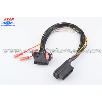 OBD2 Short Male Type To Crimping Female