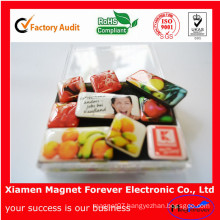 Advertising Souvenir Soft Rubber Fruit Fridge Magnet as Promotion Gift