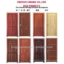 MDF diseños de una sola puerta de madera