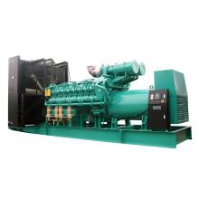 60Hz 1200rpm Diesel Fuel Natural Gas Generator Set 1365kw 1700kVA