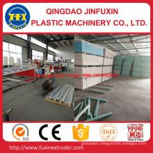 PVC Construction Crust Foam Sheet Extrusion Machine