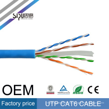 Tipos de comunicación por computadora SIPU 305m 4 pares utp cat6 23awg cable de red ethernet