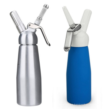 Wholesale 250ml Aluminum Canister With Metal Top Cream Whipper
