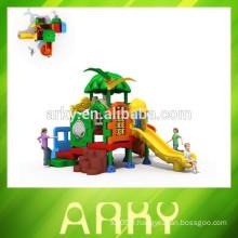 2015 petit jeux pour enfants parc coulissante KFC restaurant enfants salle de jeux toboggan jardin