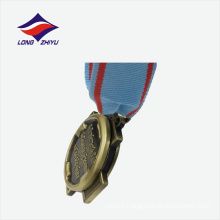 Personal design factory price nice quality zinc die casting medal