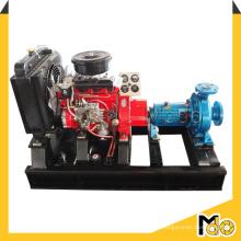Pompe d'aspiration centrifuge mobile diesel pour l'eau propre