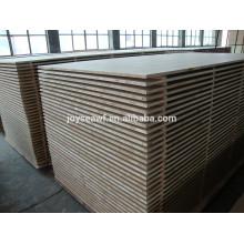 poplar core 18mm blockboard with E1 glue