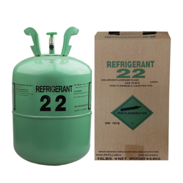 R22 Refrigerante Gas Neutral Embalaje