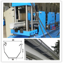 High Quality Color Steel Sheet Gutter Roll Forming Machine