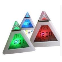 Dreieck Wecker, Farbwechsel Stimmung Uhr Pyramide Wecker