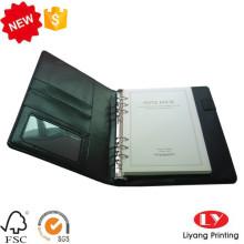 PU-Datei Office Notebook mit Logo-Stempel