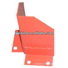Protector de poste vertical Jracking base corner frame para paletización