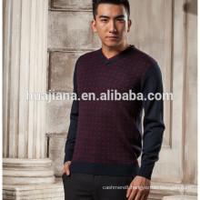 anti-pilling cashmere men's knitting sweater