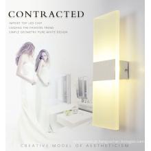 Lâmpada de parede de LED quadrado interior moderno de alta qualidade
