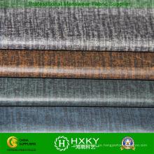 Nuevo diseño tejido de tafetán de poliéster con relieve para chaqueta Casual Men′s