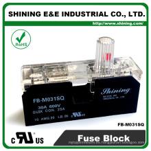 FB-M031SQ Aprobado por UL Igual a Bussmann 1 Pole 30A Ceramic Fuse Box