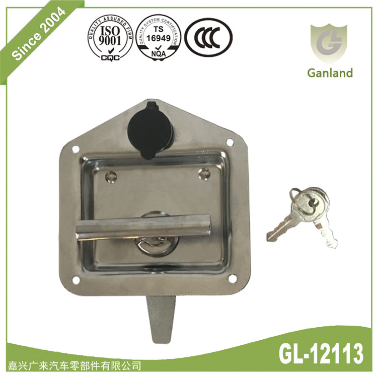 Trailer Door Latch T Handle Lock