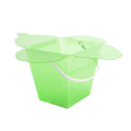 green luxury plastic gift and flower box