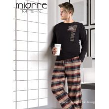 Miorre Women's Long Sleeve Patterned Sportive Pajamas Set