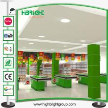 Équipement électrique de supermarché de caisse de sortie