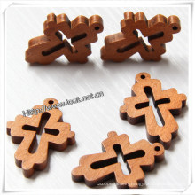 Wholesale Small Wall Decor Wooden Crosses for Decoration (IO-cw004)