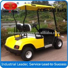 2 seater electric golf car