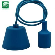 Colourful Silicon Pendant Light E27 Base Lamp