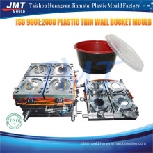 high quality made in china precision thin wall container mould price