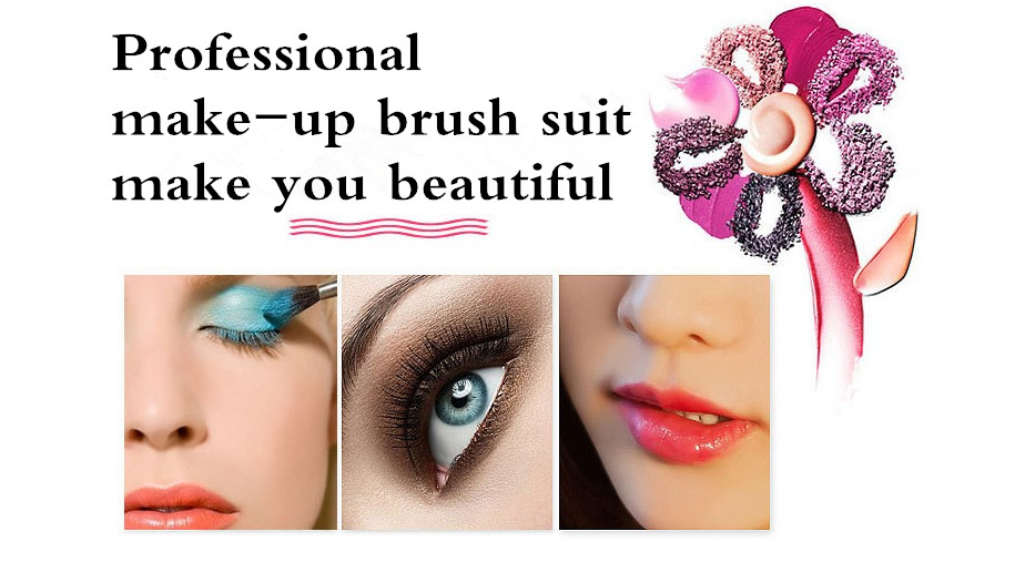 Make Up Brush Cosmetic Kit