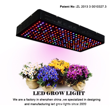 Pembekal Cina Gaea 1200w Spektrum Penuh LED Grow Light