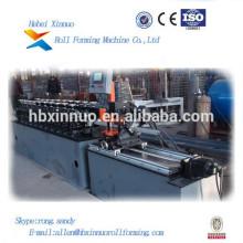 Máquina perfiladora de perfil de acero de chapa galvanizada para perforación de paneles de yeso