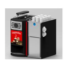 Uso comercial Gaia E2s com feijão de leite fresco para copa máquina de café