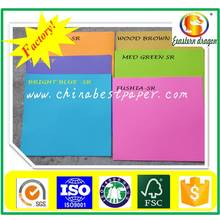 Цветная бумага с прямым сбытом фабрики 70 г